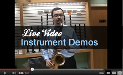 Live Video - Instrument Demos